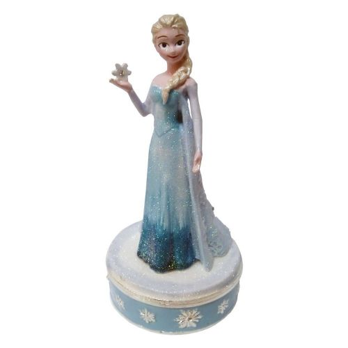 "Disney's ""Elsa"" from Frozen Trinket Box  - Cake Topper and Keepsake Trinket Box"